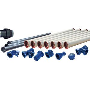canalización de hierro fundido / de PE / barnizada con poliuretano