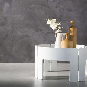 enlucido decorativo / de interior / para muro / resina sintética