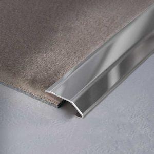 perfil de transición de acero inoxidable