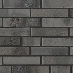 fachaleta de ladrillo de clinker / para fachada / gris