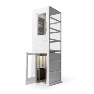ascensor eléctrico / para el sector servicios / para edificios de gran altura / para hospital