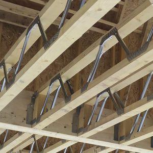 viga prefabricada / de madera / de metal / rectangular
