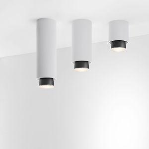 downlight montado en superficie / LED / redondo / de aluminio