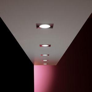 downlight empotrable / LED / halógeno / redondo