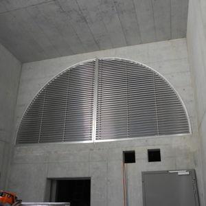 rejilla de ventilación de aluminio / de acero inoxidable / de aluminio anodizado / de cobre