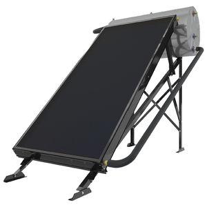 calentador de agua solar / de pie / horizontal / con termosifón