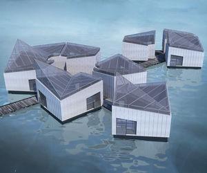 edificio flotante