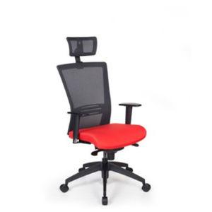 sillón de oficina contemporáneo / de tejido / en malla / con ruedas