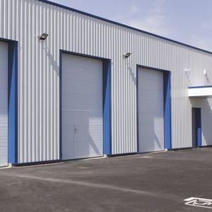 puertas industriales seccionales