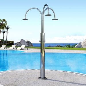 ducha par jardín para piscina