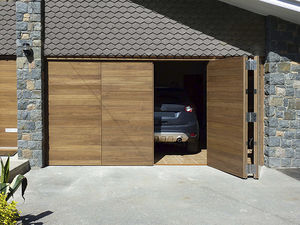 puertas de garaje plegables