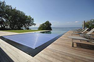 cubierta para piscina automática