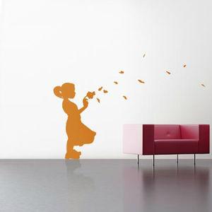 adhesivo de pared silueta
