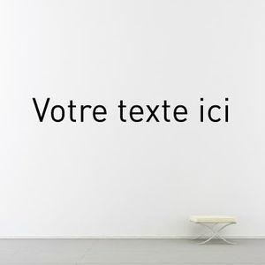 adhesivo de pared texto