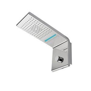 rociador de ducha de pared / rectangular / lluvia / cascada
