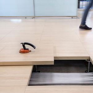 suelo técnico de aglomerado