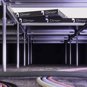 pedestal para suelo técnico de acero