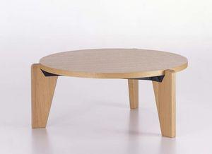 mesa de centro contemporánea / de roble / de madera maciza / de nogal americano
