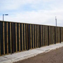 muro antirruido con paneles modulares