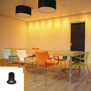 downlight empotrable de techo / LED / redondo / de aluminio anodizado
