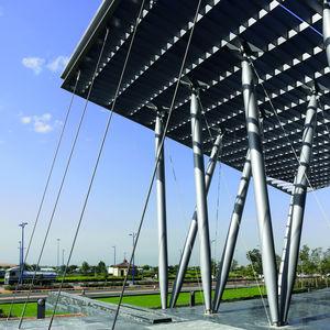 cable de acero para tensoestructura / para fachada / para interiores / de acero inoxidable
