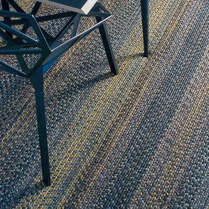 alfombra contemporánea / de rayas / de polipropileno / rectangular