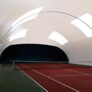 estructura hinchable para pista de tenis