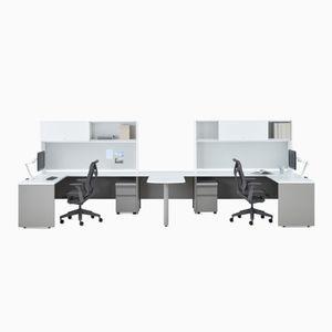 escritorio de metal / contemporáneo / modular