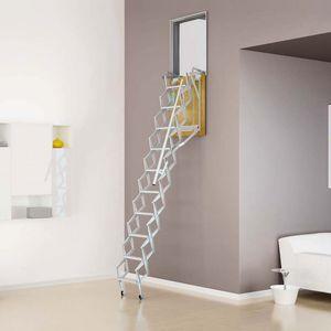 escalera elevada abatible
