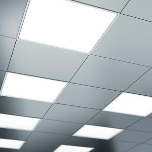 luminaria empotrable de techo