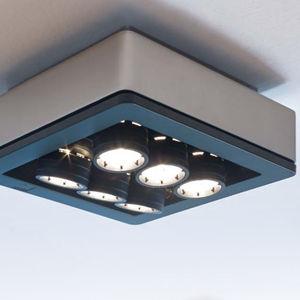 downlight montado en superficie / LED / cuadrado / de metal