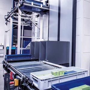 estantería giratoria para el sector servicios / automática / vertical