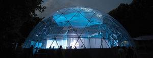 tensoestructura de cúpula geodésica