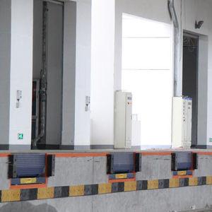 rampa de acceso de acero galvanizado