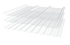 plancha de tejado de poliéster
