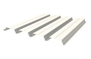 lámina de metal perforada / acanalada / de acero galvanizado / para techado