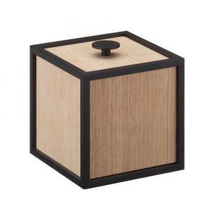 caja de almacenamiento MDF / de chapa de madera / de acero lacado