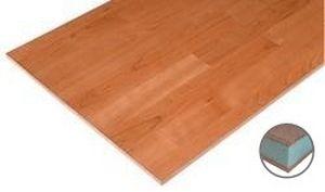 panel sándwich para forjado / cara de madera / alma de poliestireno / alma de espuma de PVC