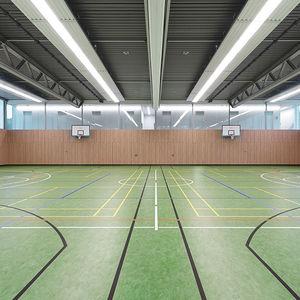 pavimento deportivo de linóleo