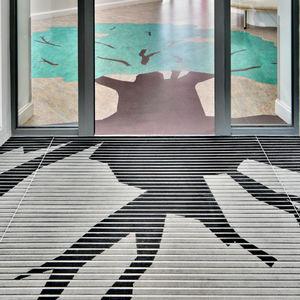 alfombra de entrada para edificio público / de poliamida / antisuciedad / con perfil