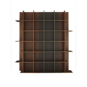 biblioteca modular / contemporánea / de madera lacada