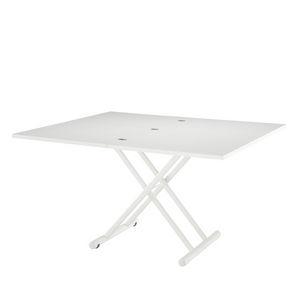 mesa contemporánea / epoxi / de plástico / de acero lacado