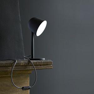 lámpara de mesa / contemporánea / de metal / LED