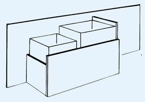 conducto de distribución de aire rígido