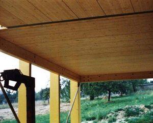 viga de madera laminada encolada