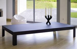 mesa de centro contemporánea / de acero galvanizado / de aluminio / cuadrada