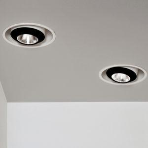 downlight empotrable de techo / LED / elíptico / para el sector servicios