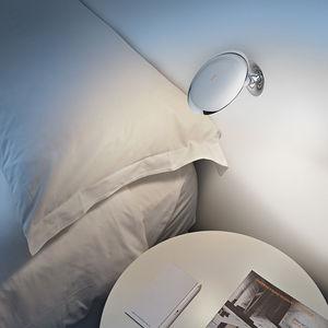 aplique contemporáneo / de metal / LED / redondo
