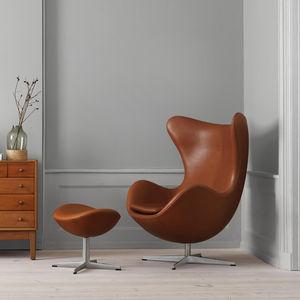 sillón contemporáneo / de tejido / de cuero / aluminio