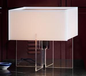 lámpara de mesa / contemporánea / de fibra acrílica / de interior